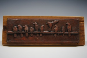 Birds on a Wire Tile