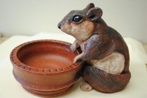 Flying Squirrel Salt Cellar