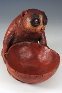 Slow Loris Salt Cellar